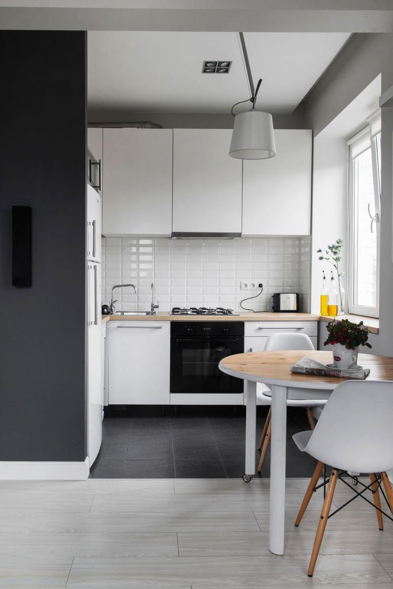 Угловая кухня 6 кв. м 2