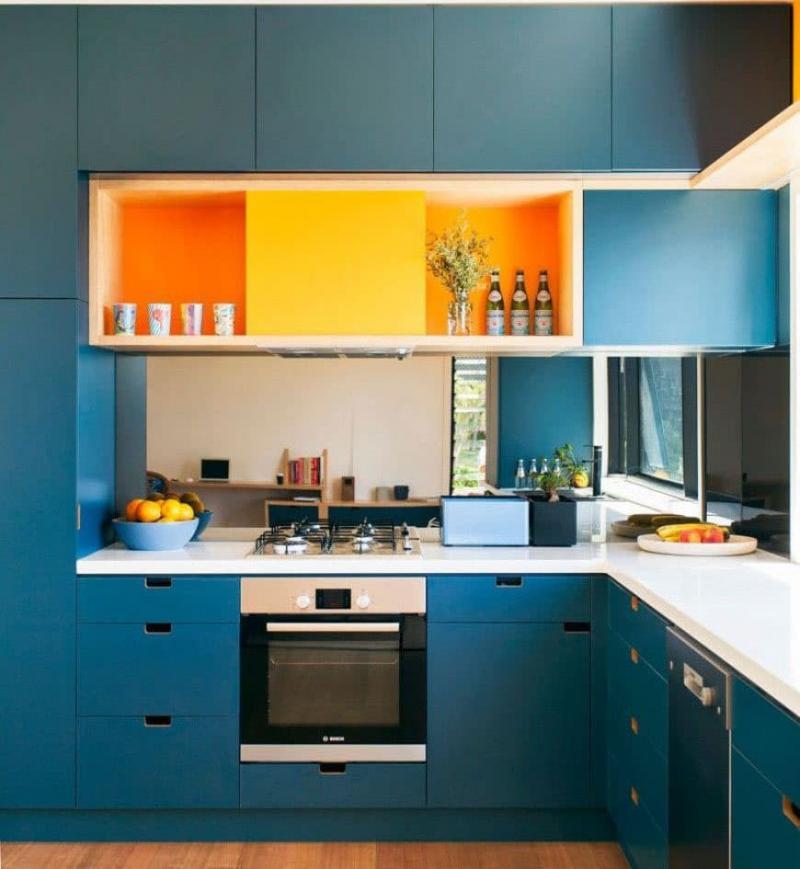 Угловая кухня 6 кв.м 5