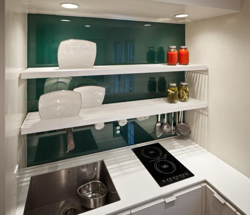 Визуальные эффекты на кухн 6 кв. м 6