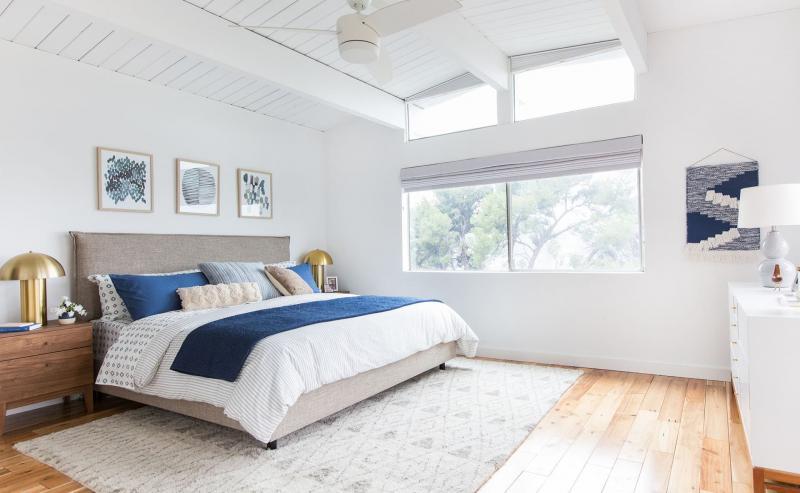 Белая спальня 18. кв. м 1