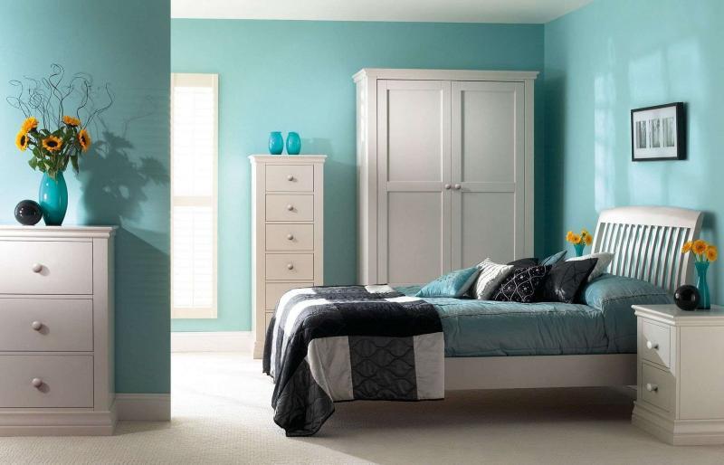 Голубая спальня 18 кв. м 3