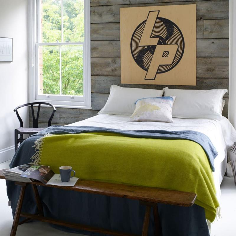 Интерьер спальни 18 кв. м 5