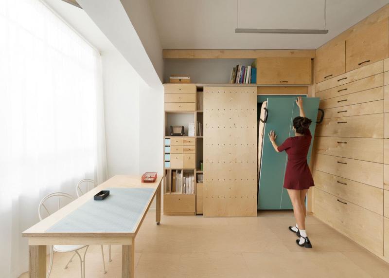 Спальня-студия 18 кв.м 1
