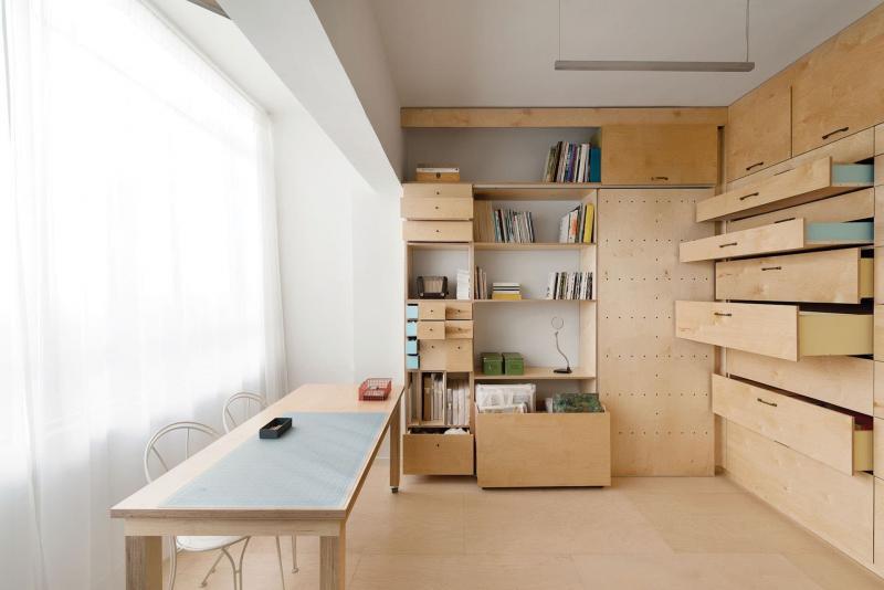 Спальня-студия 18 кв.м 4