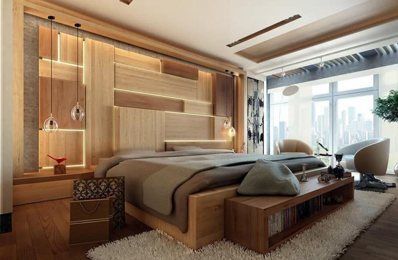 Спальня 18 кв. м с балконом 2