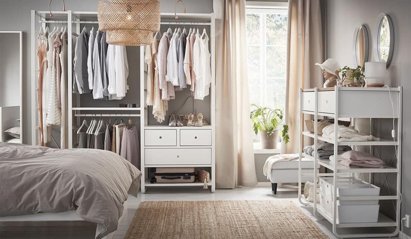 Спальня 18 кв.м с гардеробной 1