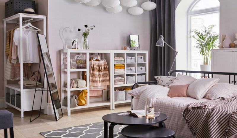 Спальня 18 кв.м с гардеробной 2