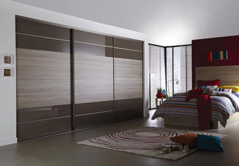 Спальня 18 кв.м с гардеробной 4