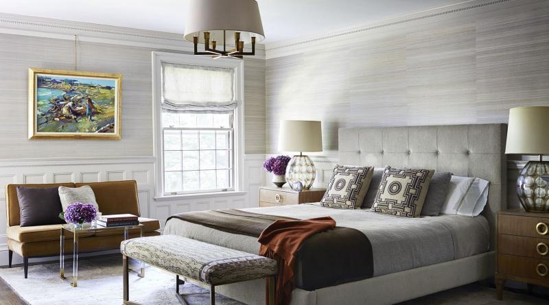 Спальня 18 кв.м с софой 2