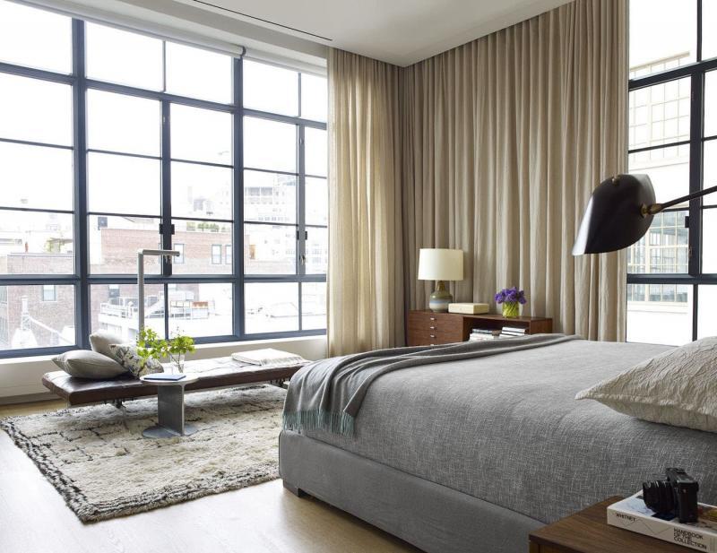 Спальня 18 кв.м с софой 3