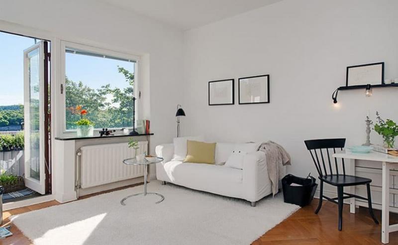 Спальня с диваном 1