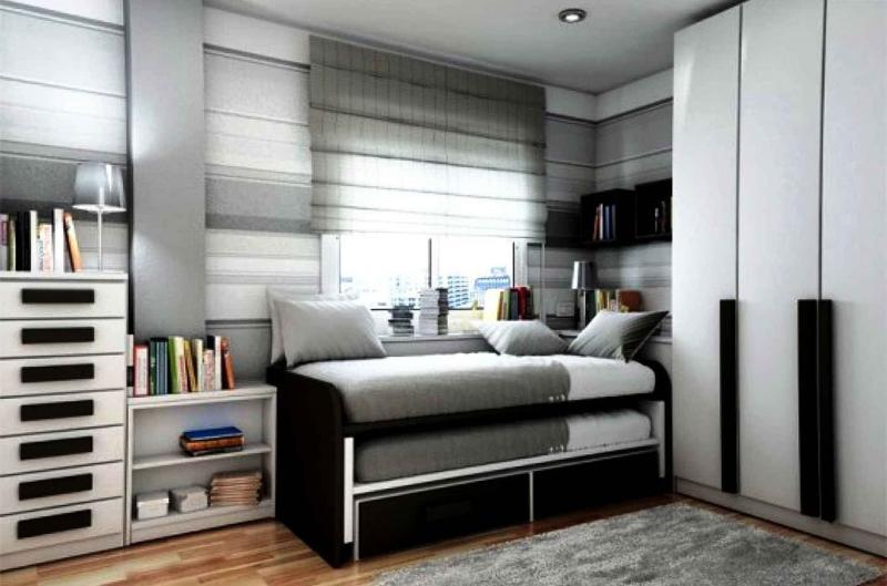 Спальня с двухярусной кроватью 2