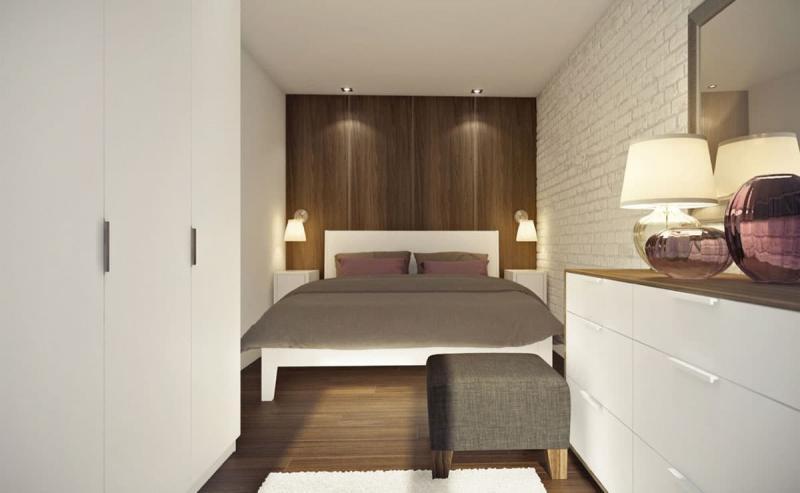 Спальня с двуспальной кроватью 2