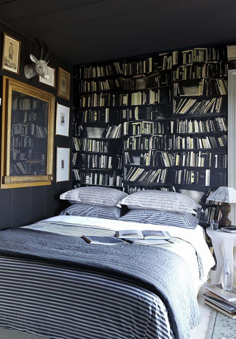Спальня с фотообоями 3