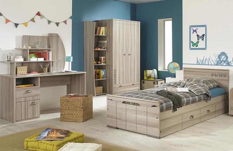 Спальня с односпальной кроватью 3