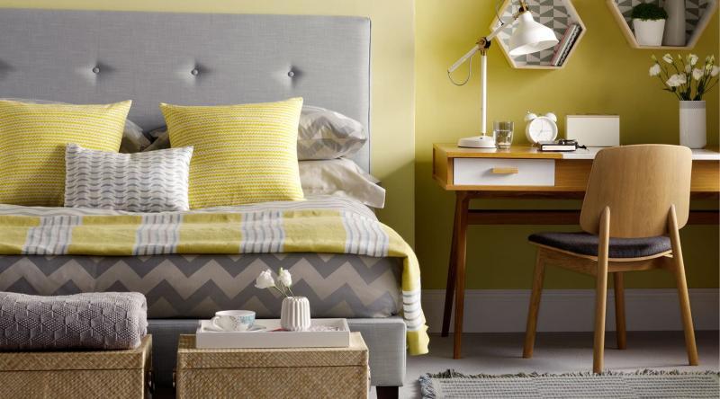 Спальня с рабочим местом 3
