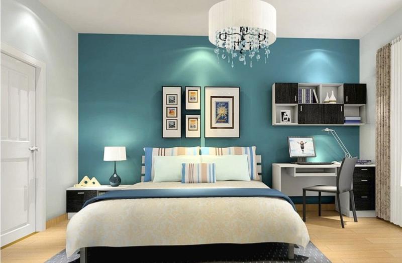 Спальня с рабочим местом 4
