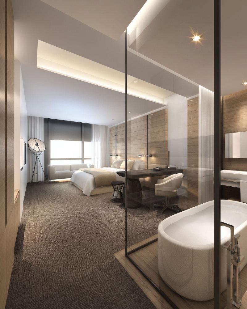 Спальня с ванной комнатой 5