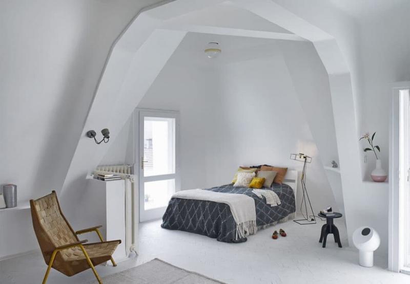 Спальня в скандинавском стиле 2