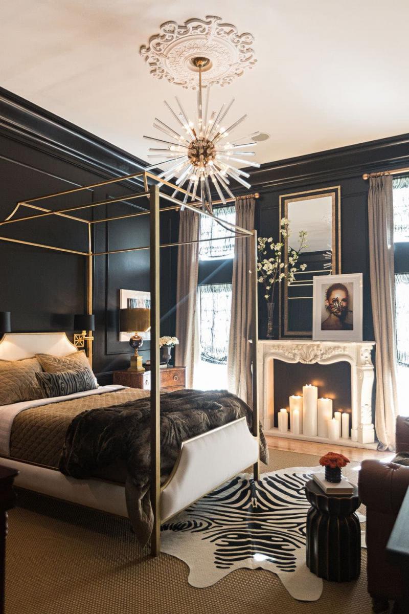 Спальня в стиле эклектика 4