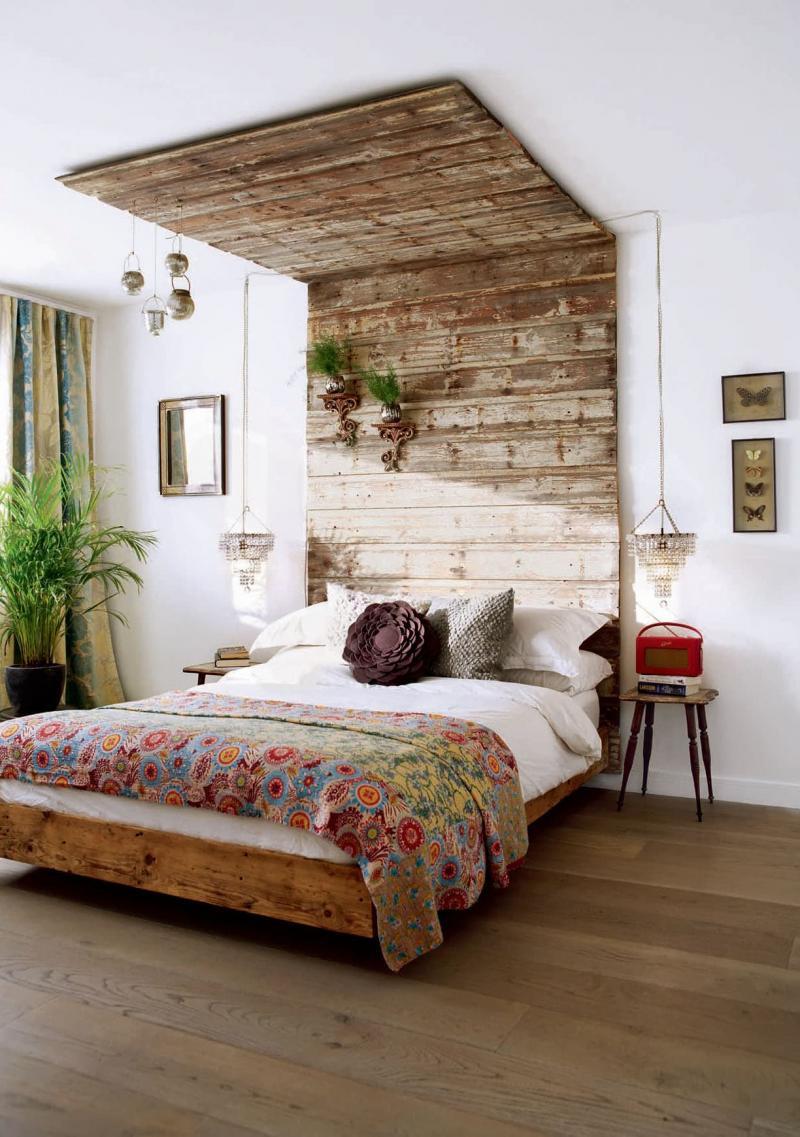 Спальня в стиле эко 2