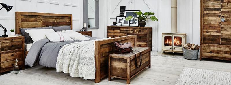 Спальня в стиле кантри 1