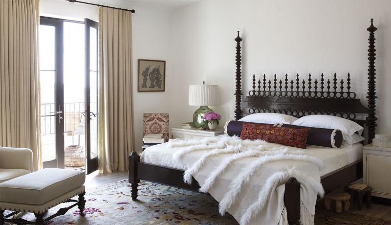 Спальня в восточном стиле 1