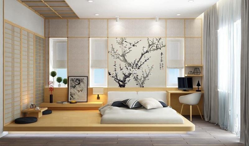 Спальня в восточном стиле 3
