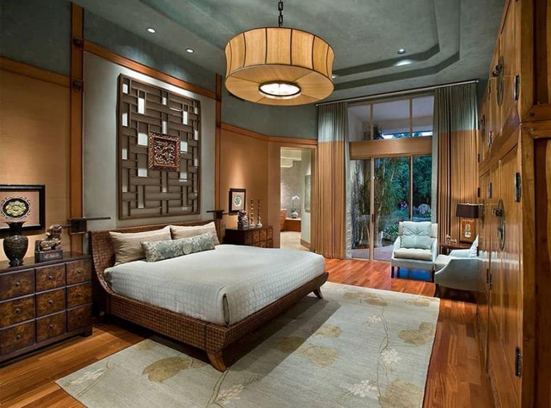 Спальня в восточном стиле 4