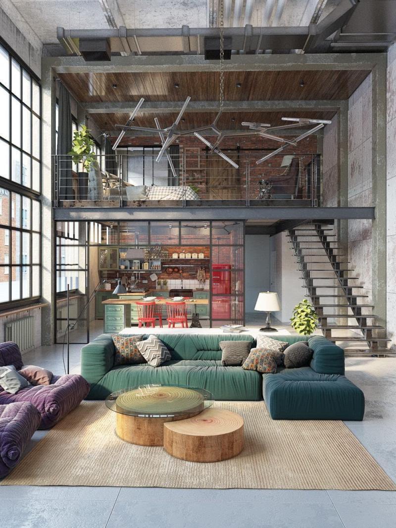 Дом в стиле лофт 1