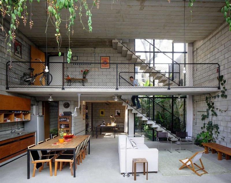 Дом в стиле лофт 3