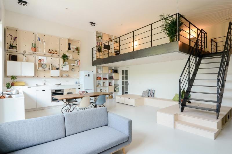 Квартира в стиле лофт 3