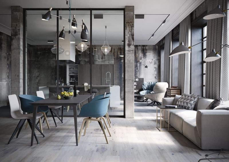 Мебель в стиле лофт 4