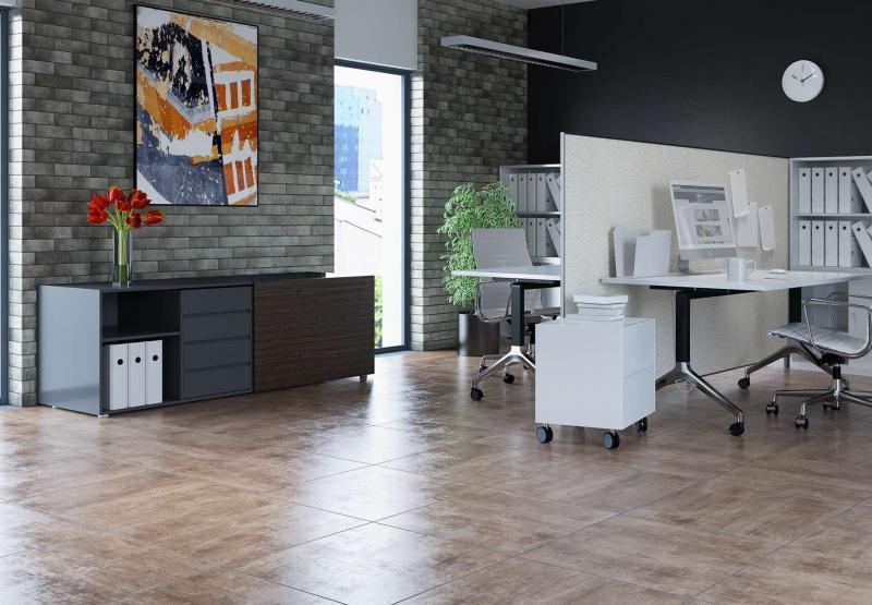 Офис в стиле лофт 2