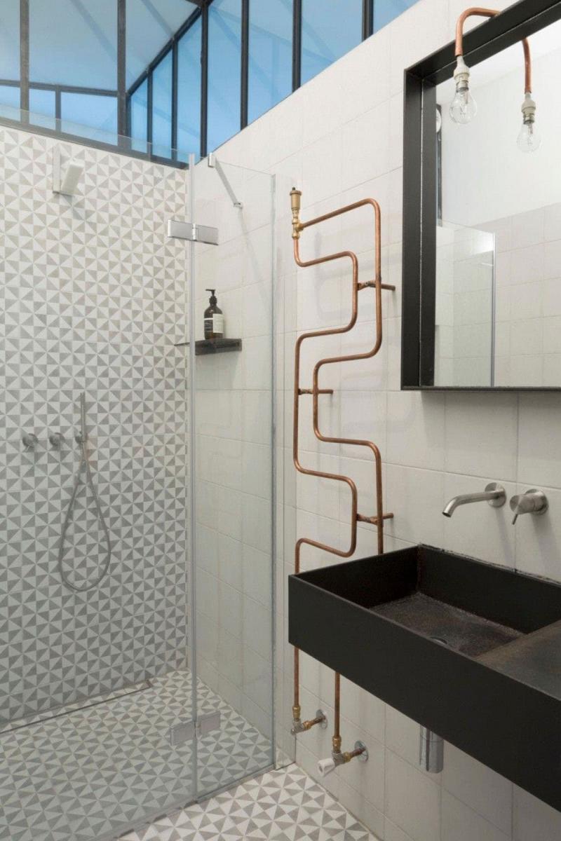 Ванная комната в стиле лофт 4