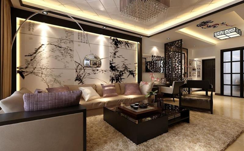 Дизайн гостиной 18 кв. м