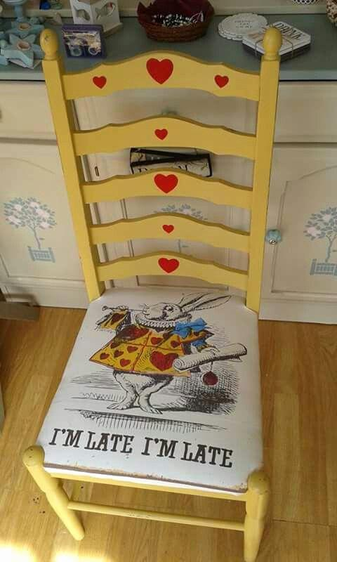 Детская мебель по мотивам Алисы в Стране Чудес 11