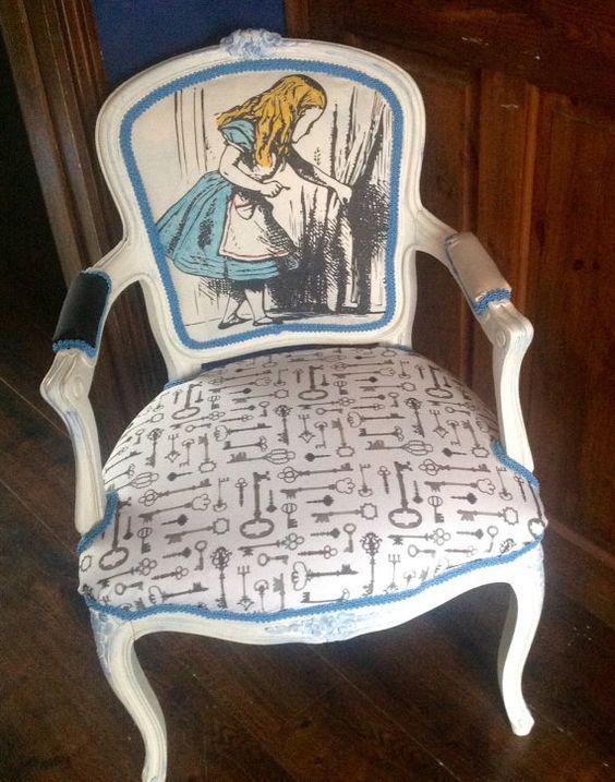 Детская мебель по мотивам Алисы в Стране Чудес 4