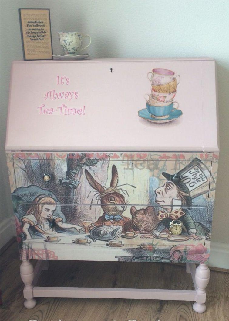 Детская мебель по мотивам Алисы в Стране Чудес 8