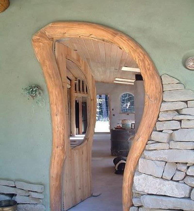 Дизайн дверного проема 8