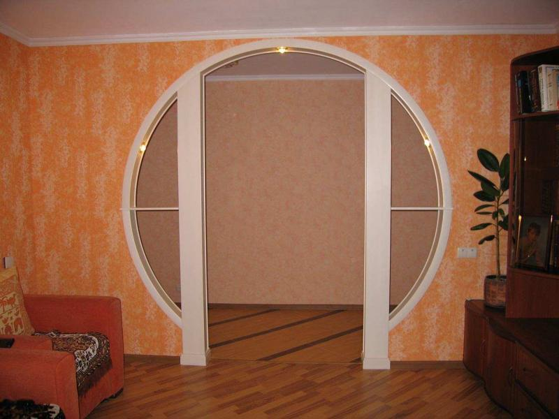 Оформление дверных проемов 10