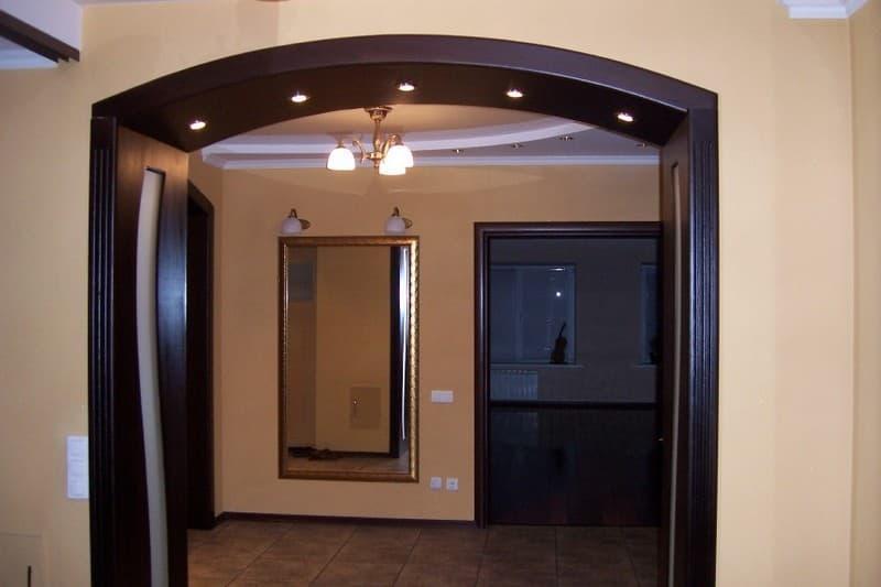 Оформление дверных проемов 2