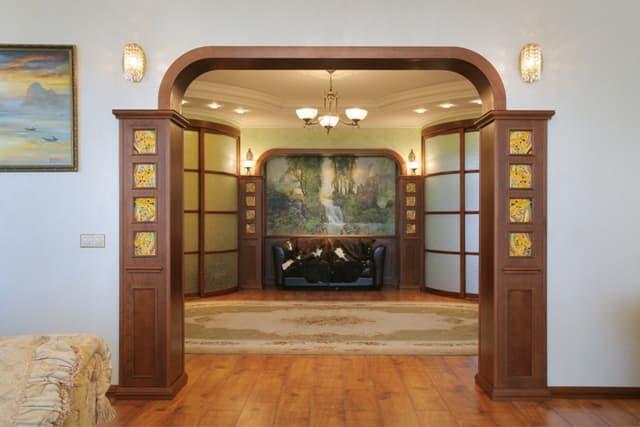 Оформление дверных проемов 4