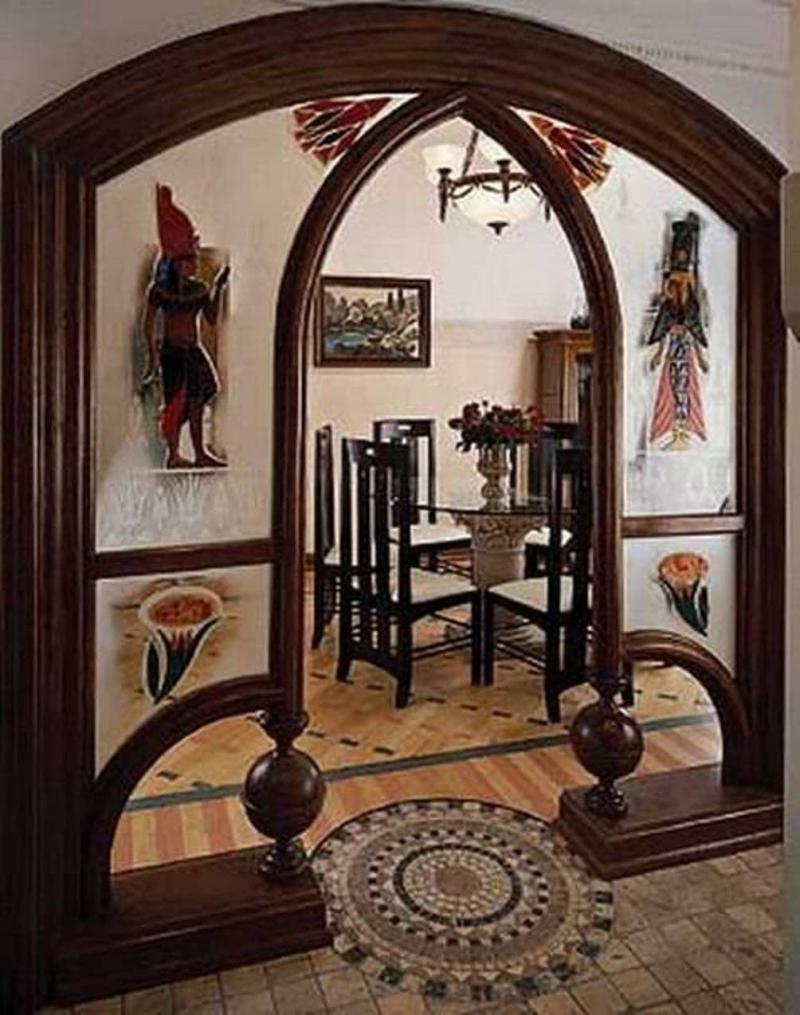 Оформление дверных проемов 6
