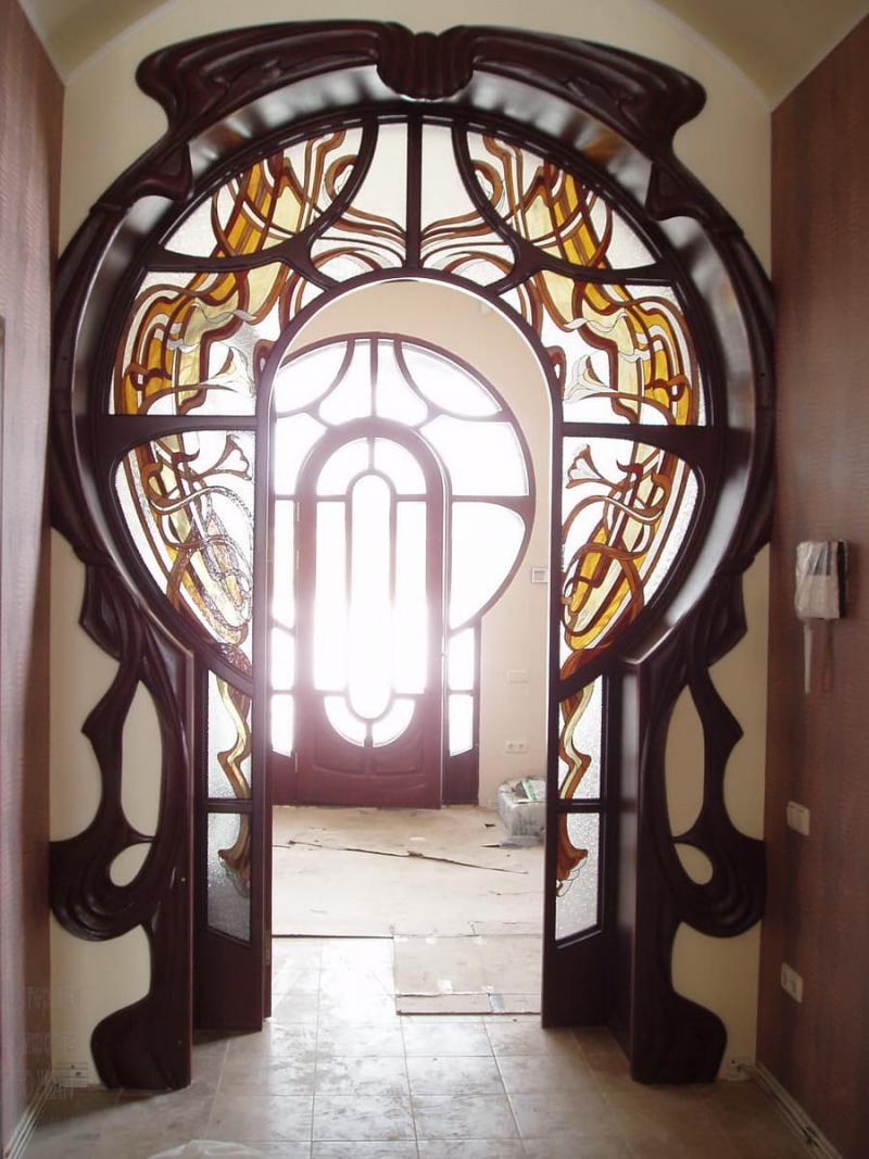 Оформление дверных проемов 7