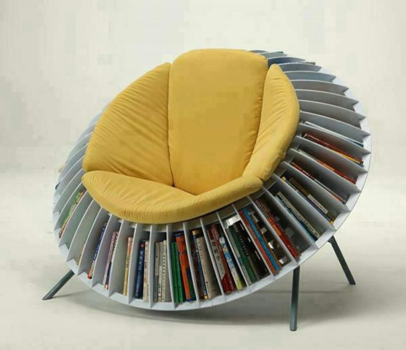 Кресло-Библиотека для гостиной 1