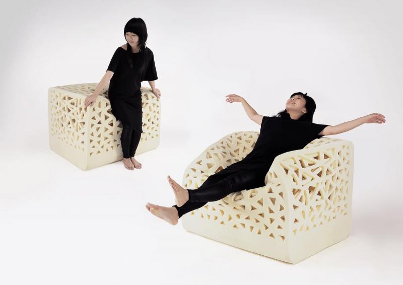 Кресло-Губка для гостиной 1