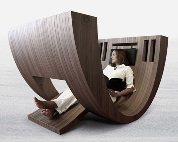 Кресло-Качалка в стиле хай-тек для гостиной 1