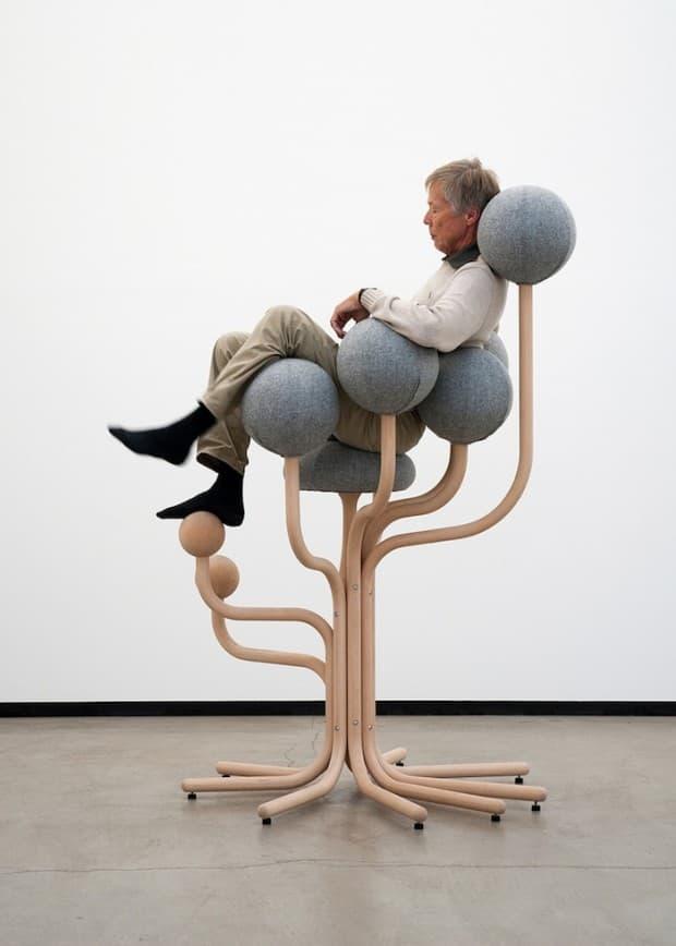 Кресло-Молекула для гостиной 1