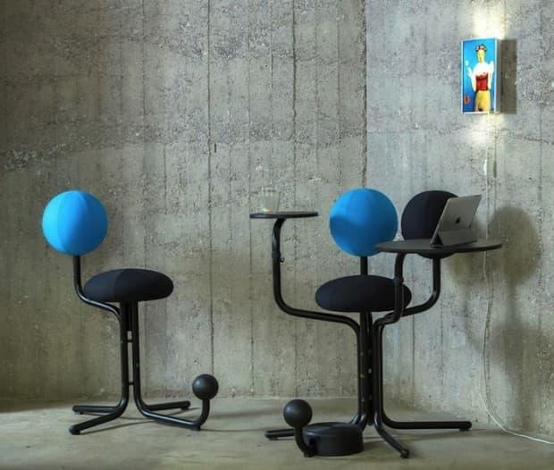 Кресло-Молекула для гостиной 4
